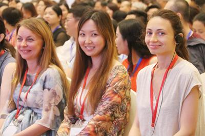2016年海灵格中国行之北京工作坊场景